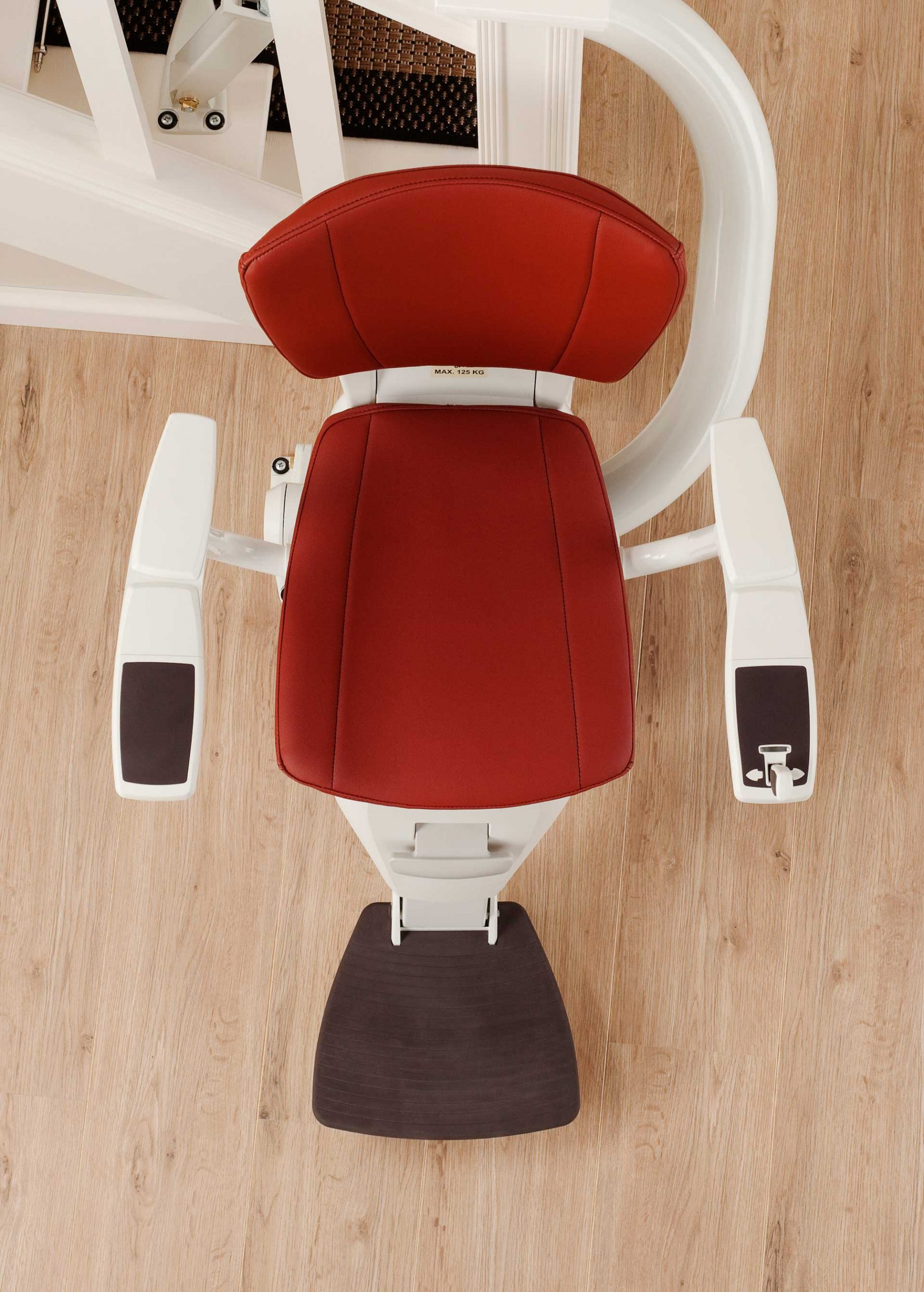 Stair Lift Overhaed View