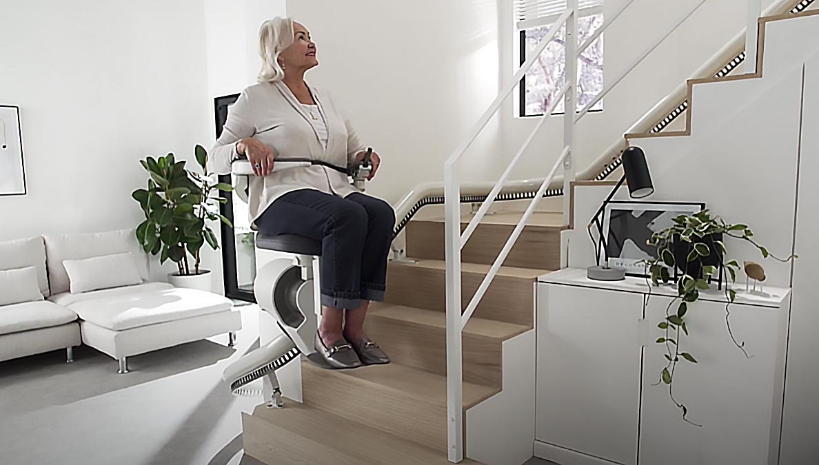 Flow X Curved-Stairlift