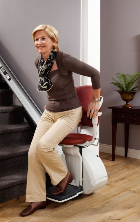 Disembarking The Stairlift